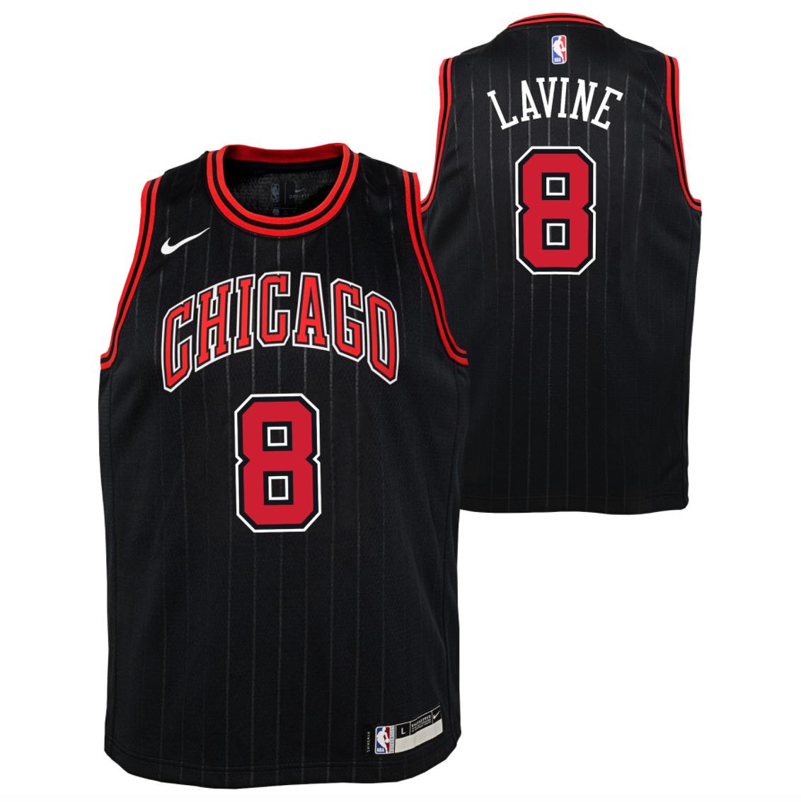 wholesale sports jerseys Nike Zach Lavine Chicago Bulls Statement ...